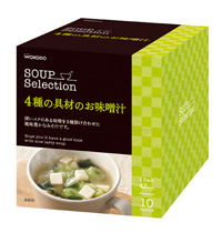 SOUP Selection Miso Soup with 4 Kinds of Ingredients 10sets