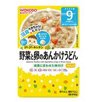 บะหมี่ญี่ปุ่นกับผักและไข่ในซอสเหนียว
