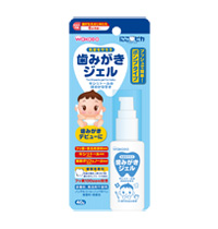 Toothpaste gel for baby