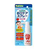 Mouth care spray for baby Apple flavor