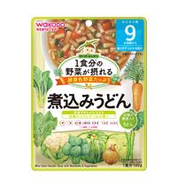 มิโซะก๋วยเตี๋ยวอุด้งพร้อมลูกชิ้นและผัก