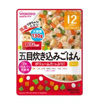 Pilaf ญี่ปุ่นกับไก่และผัก