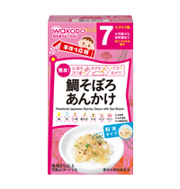 Powdered Japanese Starchy Sauce with Sea Bream